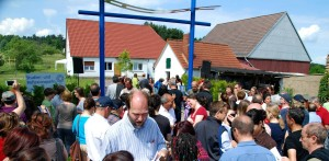 Inauguration of the Park of Study and Reflection in Germany
