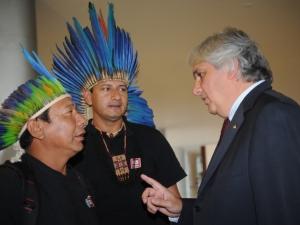 Governo e indígenas de Mato Grosso do Sul têm reunião em clima conciliatório