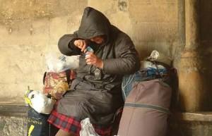 Mueren 302 indigentes en seis meses en Francia