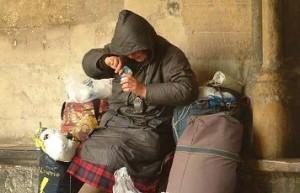 302 personnes sans abri meurent en France tous les  6 mois