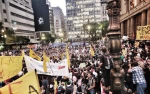 Relato de Cristiane, 24 años, baleada en la pierna en protesta en São Paulo