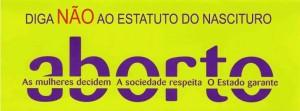 Paulistanos protestam contra o Estatuto do Nascituro