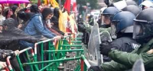 #Blockupy: l'attacco dei movimenti al mondo della finanza (e la diretta)