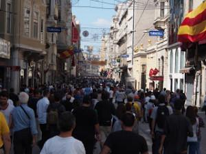 Immobili per protesta in Turchia