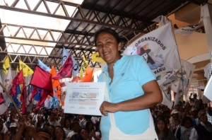 Milagro Sala proclamada presidenta del PSP