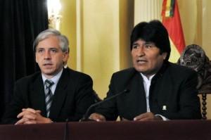 García Linera aseguró que Obama fortaleció a Evo y que los países europeos son colonias de EEUU