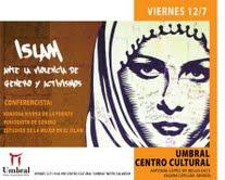 Conferencia abordará el movimiento feminista en el Islam