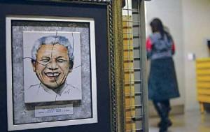 Um olhar irreverente sobre Nelson Mandela