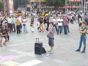 Fotos da Turquia: Assembleia em Guvenpark, Ancara