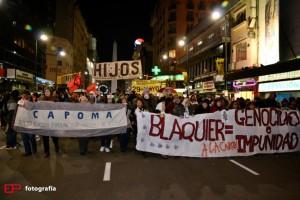 Denuncia a la impunidad de Blaquier frente a sus oficinas en Buenos Aires