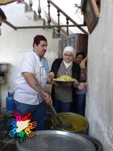 """Continua l'iniziativa """"Niente più fame"""" a Damasco"""