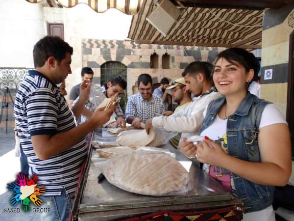 """Iniziativa """"Niente più fame"""" a Damasco"""