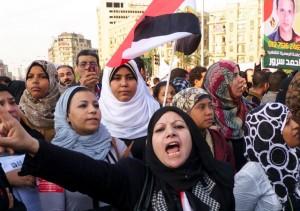 Las protestas se mantienen en Egipto