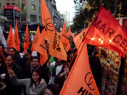 Il Partito Umanista iscrive il candidato a Presidente in Cile