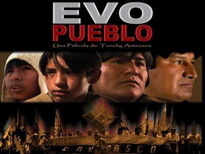 """Proyección del film """"Evo Pueblo"""" en la sede de la Corriente Militancia Humanista"""