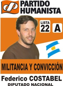 La lista del Partido Humanista en La Pampa estará presente en octubre