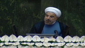 Iran's Rouhani strongly condemns chemical weapons use