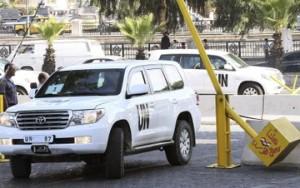 Inspetores da ONU são atacados durante investigação na Síria