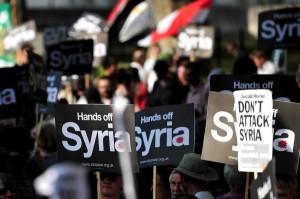 Amplio rechazo mundial a una intervención militar contra Siria