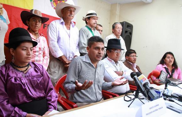 Organizaciones sociales respaldan la decisión del gobierno de Ecuador para desarrollar yacimientos de crudo en el Yasuní