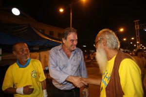 Oliver Stone joins Jeju residents' battle against naval base