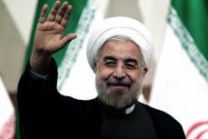 Rohani regresó a Teherán y lo reciben sus seguidores y opositores