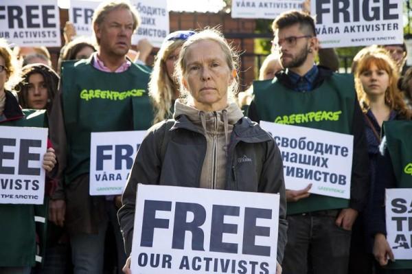 """Alternative Nobel Prize"" Laureates demand immediate release of Greenpeace activists"