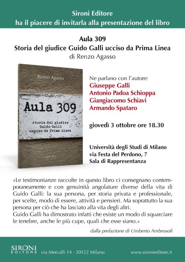 Aula 309: storia del giudice Guido Galli ucciso da Prima Linea