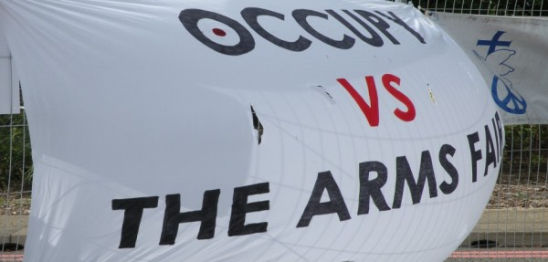 Occupy vs the London Arms Fair aka DSEi