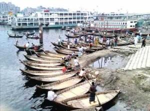 Dhaka's Buriganga River is a dumping ground