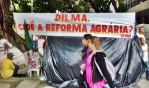 MST: Governo Dilma abandonou a Reforma Agrária