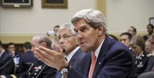Kerry: 'Algunas naciones árabes ofrecen asumir gastos de ataque a Siria'