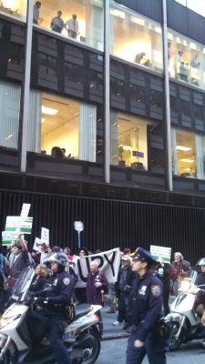 Robin Hood Activists Take Aim at Wall Street