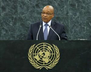 Zuma chiede all'ONU l'accellerazione del trattato sulle armi leggere