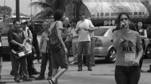 Foto-Reportagem: Começa greve dos petroleiros contra Leilão do Campo de petróleo de Libra