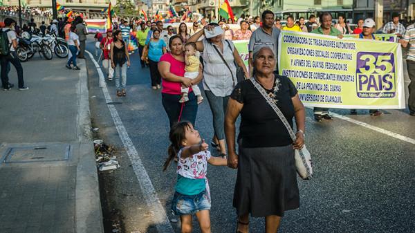 Las mujeres rurales de Ecuador expresaron sus demandas prioritarias