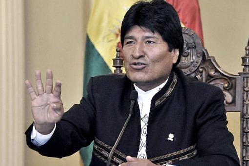 Evo Morales: «Mi meta es ganar las elecciones con un 74%»