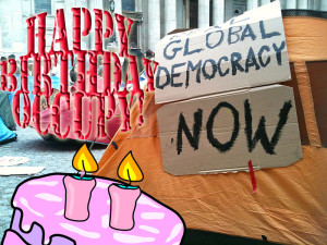 Happy Birthday Occupy London!