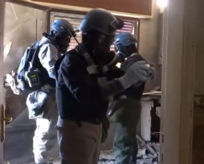 Síria: metade das instalações do arsenal de armas químicas foi inspecionada
