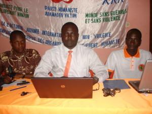 Il Movimento Umanista maliano chiede di che i corsi sulla nonviolenza vengano istituzionalizzati nelle scuole