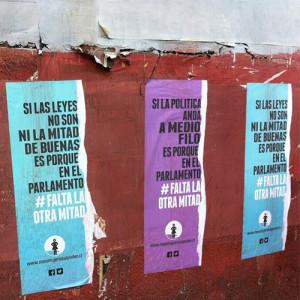 Chile: Una campaña advierte sobre la falta de representación política de las mujeres