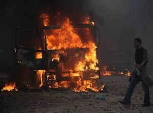 Egyptians Clash on Streets and over Constitution