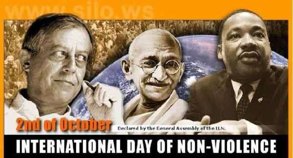 2 Octobre 2013 – Journée Internationale de la Nonviolence