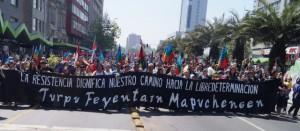 12 de octubre: Miles de Personas marcharon por los Derechos Indígenas y Defensa de la Naturaleza
