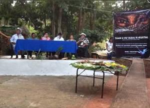 Pueblos Mayas ante el Tribunal Permanente de los Pueblos: 'Están acabando con nuestra vida'