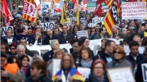 España, escenario de marchas antirecortes