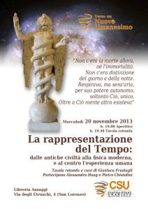 La rappresentazione del tempo: tavola rotonda a Roma