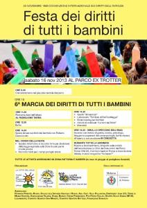Marcia per i diritti dei bambini
