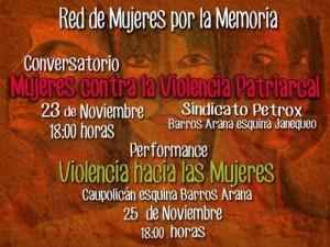 Concepción conmemora el Día internacional por la No violencia en contra de las mujeres