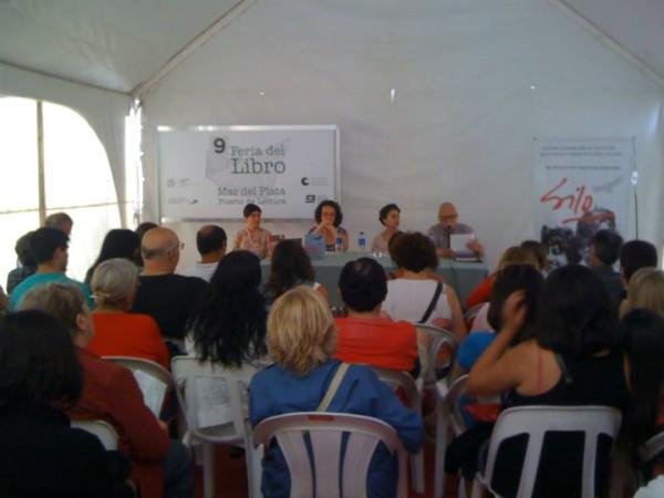 Silo, en la Feria del Libro de Mar del Plata